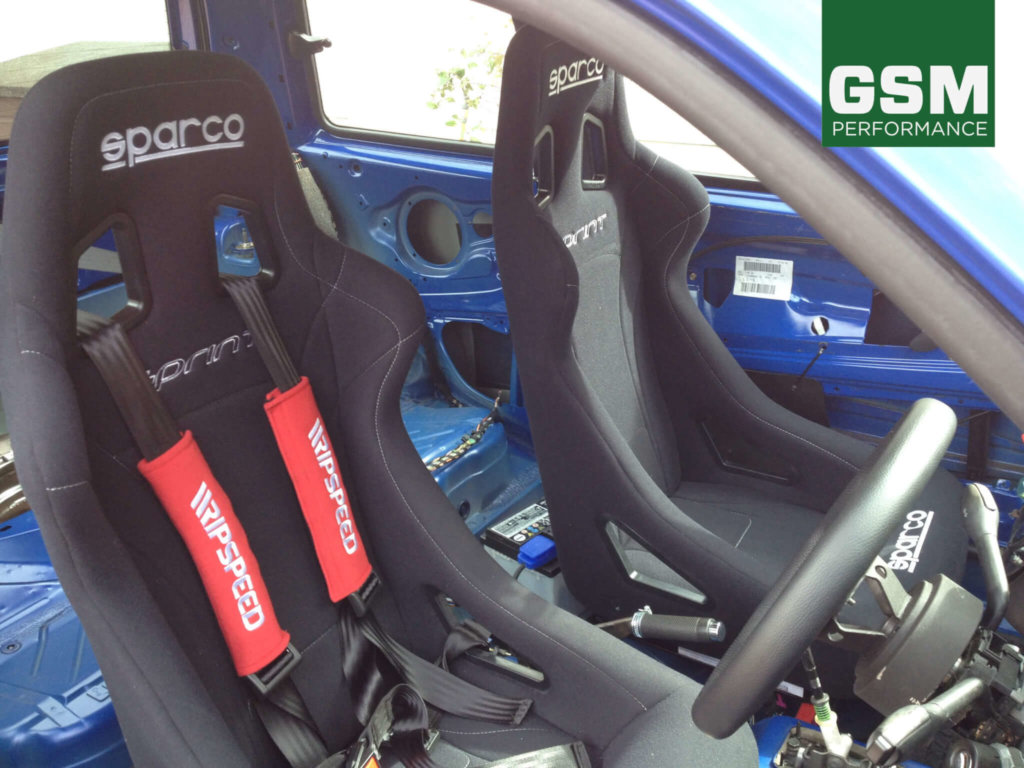 Vw Lupo Fitted With Sparco Sprint Bucket Seats