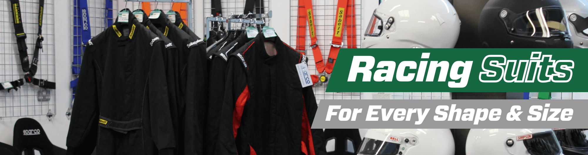 Racing Suits -For Every Shape & Size – www.gsmperformance.co.uk Hero Image – October 2017